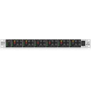 Amplificador Para 6 Fones Powerplay Behringer HA6000