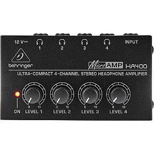 Amplificador Para Fones De Ouvido Behringer Ha400