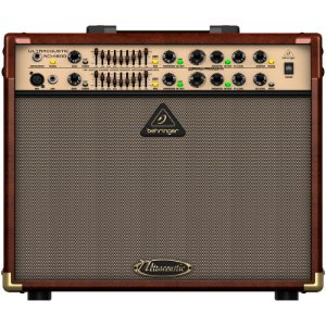 Amplificador Para Violão Behringer 180w Acx1800 Profissional 110v