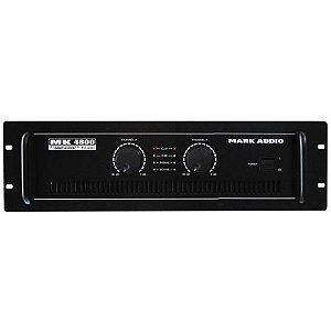 Amplificador Potência 800W Mark Áudio MK 4800