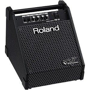Amplificador Roland Para Bateria Eletrônica V-Drums Pm-10