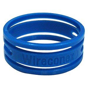 Anel Azul Wireconex Wc 1000 Para Conector Wc 1003 Xlr