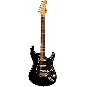 Guitarra Tagima T-805 Série Brasil Cor Preta Escudo Tortoise
