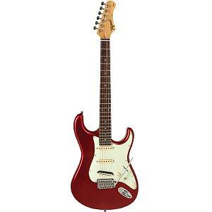 Guitarra Tagima T805 Stratocaster Hand Made In Brazil Vermelho Metálico