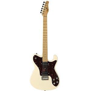 Guitarra Tagima T850 Telecaster Custom Hand Made In Brazil Branco Vintage