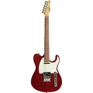 Guitarra Tagima T855 Telecaster Hand Made In Brazil Vermelho Transparente