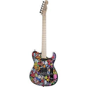 Guitarra Tagima Telecaster Marcinho Eiras Cartoon
