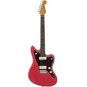 Guitarra Tagima Woodstock Tw61 P90 Jazzmaster Fiesta Red