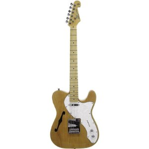 Guitarra Telecaster Semi Acustica Thinline Sx Tl Vintage