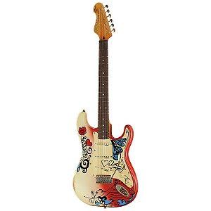 Guitarra Vintage Stratocaster Summer Of Love Thomas Blug