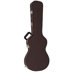 Hard Case Luxo Vogga para Guitarra Vcgllp Marrom