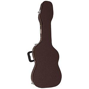 Hard Case Luxo Vogga para Guitarra Vcglst Marrom