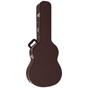 Hard Case Luxo Vogga para Violão Vcalcl Marrom