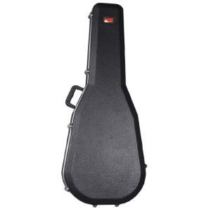 Hard Case Rigido Gator Para Violão Folk Gc-Dread