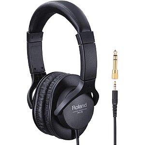 Headphone Fone De Ouvido Roland RH-5 Com Adaptador