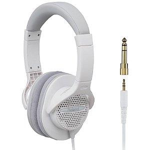 Headphone Fone De Ouvido Roland Rh-a7 Wh Com Adaptador
