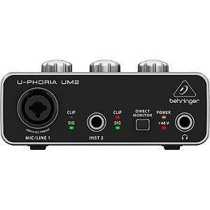 Interface de Audio Behringer Um2 U-phoria Usb