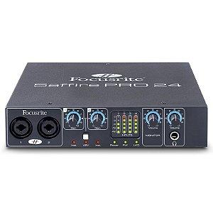 Interface De Áudio Focusrite Saffire Pro 24 Firewire