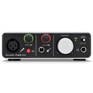 Interface De Áudio Para iPad Focusrite iTrack Solo