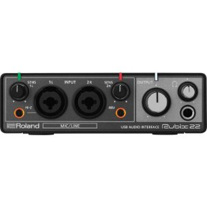 Interface De Áudio Roland Rubix 22 Usb