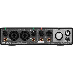 Interface De Àudio Roland Rubix 24 Usb