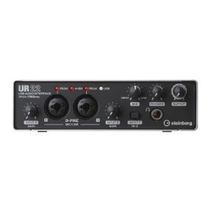 Interface De Áudio Steinberg Ur22 MkII Usb