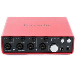 Interface De Áudio Usb Focusrite Scarlett 18i8