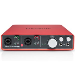 Interface De Áudio Usb Focusrite Scarlett 6i6