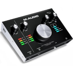 Interface de Gravação M-Audio Mtrack 2x2 M Midi Usb