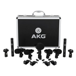 Kit De Microfones Para Bateria Akg Drum Set Session I