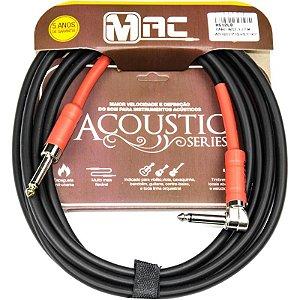 Cabo Para Instrumentos Mac Cabos Acoustic Series 35m P10 L