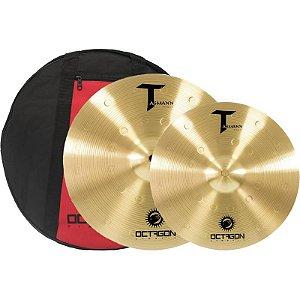 Kit De Pratos Octagon Tm03 Set Tasmann 13 16 Com Bag