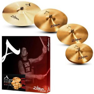 "Kit De Pratos Zildjian A Series A0391 14"" 16"" 18"" 21"""
