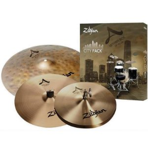 "Kit De Pratos Zildjian A Series Acityp248 12"" 14"" 18"""