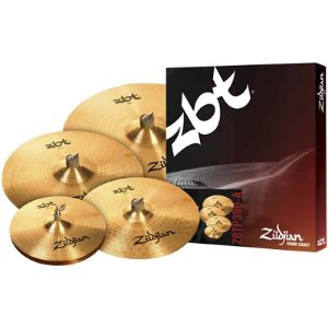 "Kit De Pratos Zildjian Zbt Five Zbtp390-A 14"" 16"" 18"" 20"""