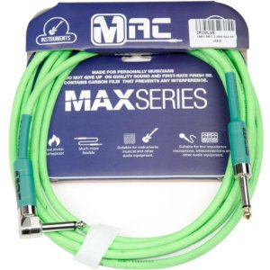 Cabo Para Instrumentos Mac Cabos Max Series 35m Verde P10 L