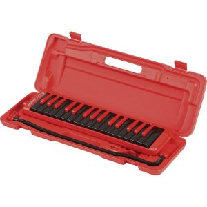 Melódica Escaleta 32 Teclas Hohner Fire Red-Black Com Case