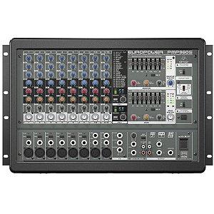 Mesa De Som Amplificada Behringer Europower Pmp980s