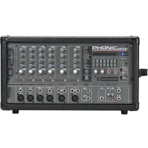 Mesa De Som Amplificada Phonic Powerpod 620