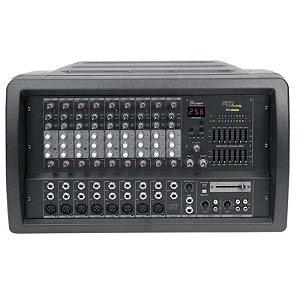 Mesa De Som Amplificada Skp Crx-1010 500w