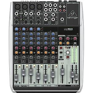 Mesa De Som Behringer Xenyx Q1204 Usb Mixer