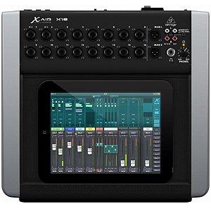 Mesa De Som Digital Behringer X Air X18 Mixer Para Ipad Tablet