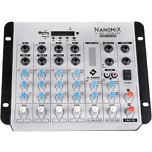 Mesa De Som LL Audio Nanomix Na702R Bt Mixer