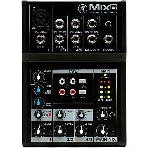 Mesa De Som Mackie Mix5 5 Canais