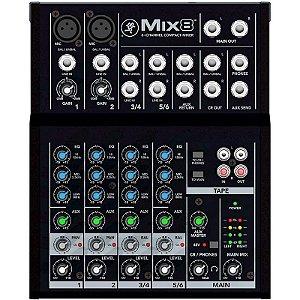 Mesa de Som Mackie Mix8 8 Canais