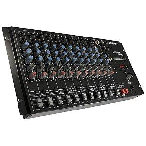 Mesa De Som Mixer 12 Canais Mxf12 Usb Frahm Bivolt