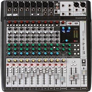 Mesa De Som Soundcraft Signature 12 Mtk 12 Canais