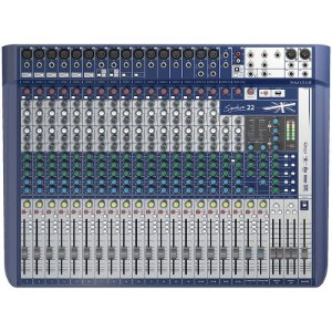Mesa De Som Soundcraft Signature 22 Canais
