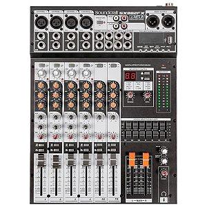 Mesa De Som Soundcraft Sx802fx Selenium Usb Com Efeito