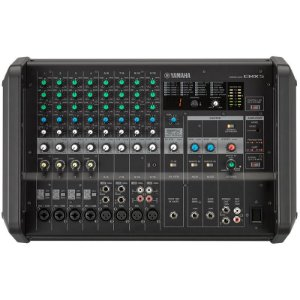 Mesa De Som Yamaha Amplificada Emx5 12 Canais